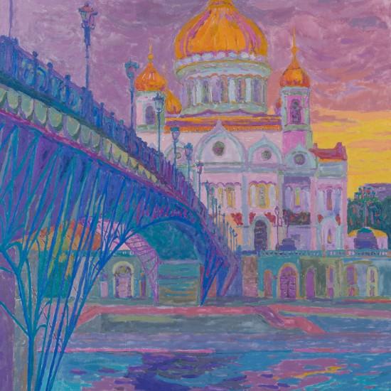Puente hacia la Iglesia del Cristo Salvador Ninoska de Gracia Moscu Ansorena