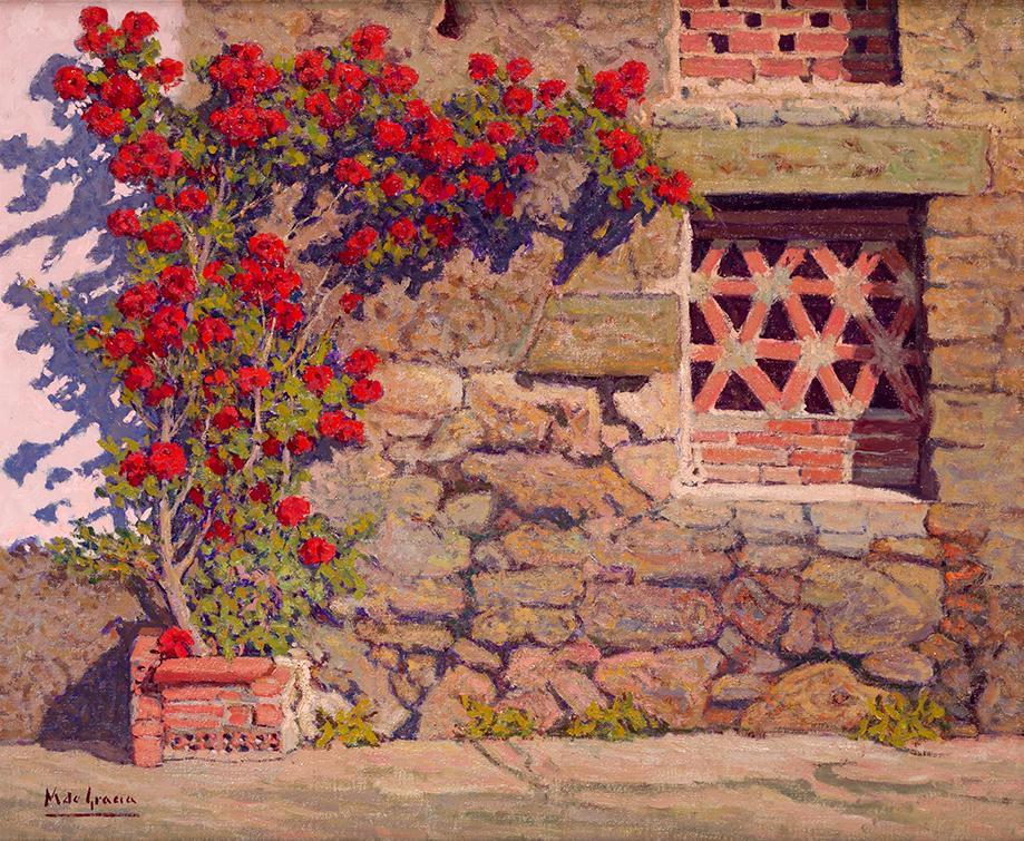 Manuel de Gracia. Rosal Rojo. Villanueva de la Vera